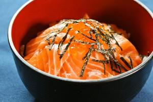 Salmon Oyako-Don